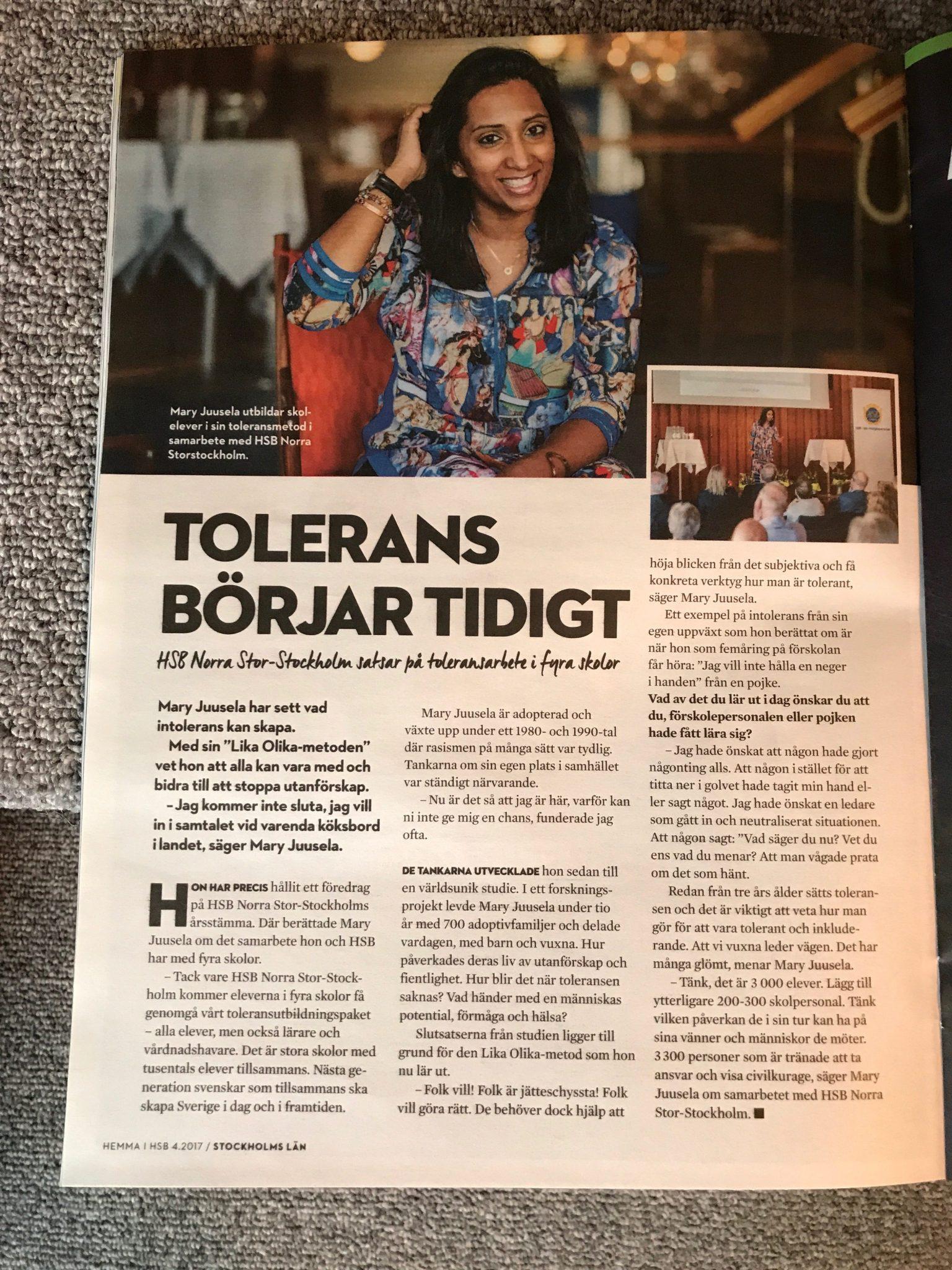 Tolerans i Grillby och Skolsta - Lika Olika-metoden c61a92f0da935