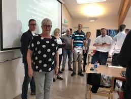 Efter en föreläsning med Lika Olika och Mary Juusela hos Optinova Holdings