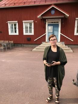 Pia Eriksson, kommunstyrelsens ordförande Lumparland kommun, Åland